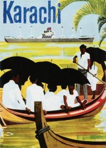 A 1967 tourism poster for Karachi