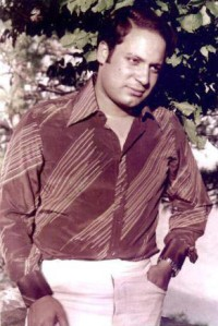 A 1973 photo of Nawaz Sharif, he was a music and film enthusiast and a PPP/Bhutto supporter at college (in the late 1960s). In the 1970s his family had a falling out with the PPP regime it nationalised a large part of the Sharif family's businesses.