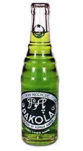 A 1955 bottle of Pakola. Every Pakistani knows about Pakola Ice-Cream Soda. The bright green coloured soft-drink that is also hailed (unofficially, though) to be 'Pakistan's national soft-drink.' But for the first few years Pakola struggled to find a market for itself that was packed with popular soft-drinks such as Coca-Cola, 7Up and Bubble-Up. By the 1970s however, Pakola finally established itself as a popular soft-drink.