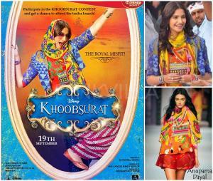 Sonam Kapoor Khoobsurat posters-001