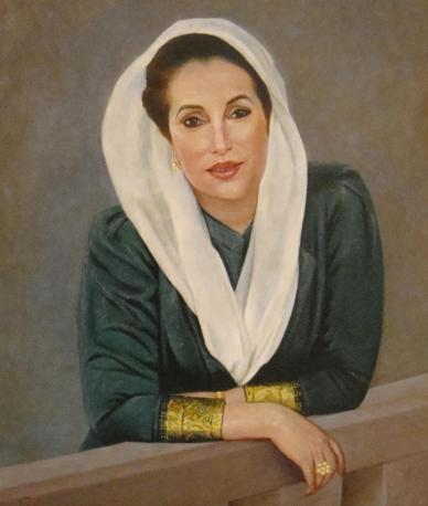 """Benazir Bhutto; """"The Daughter of East"""""""
