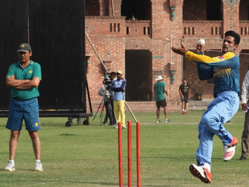Aamer Yamin at NCA all rounders camp